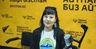Эко-Деми коомдук фондунун ыктыярчысы Бермет Ракыбаева