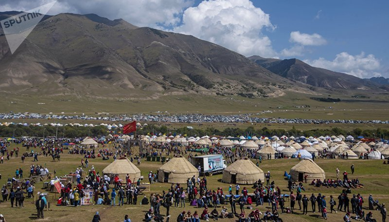 III Международные игры кочевников в Киргизии