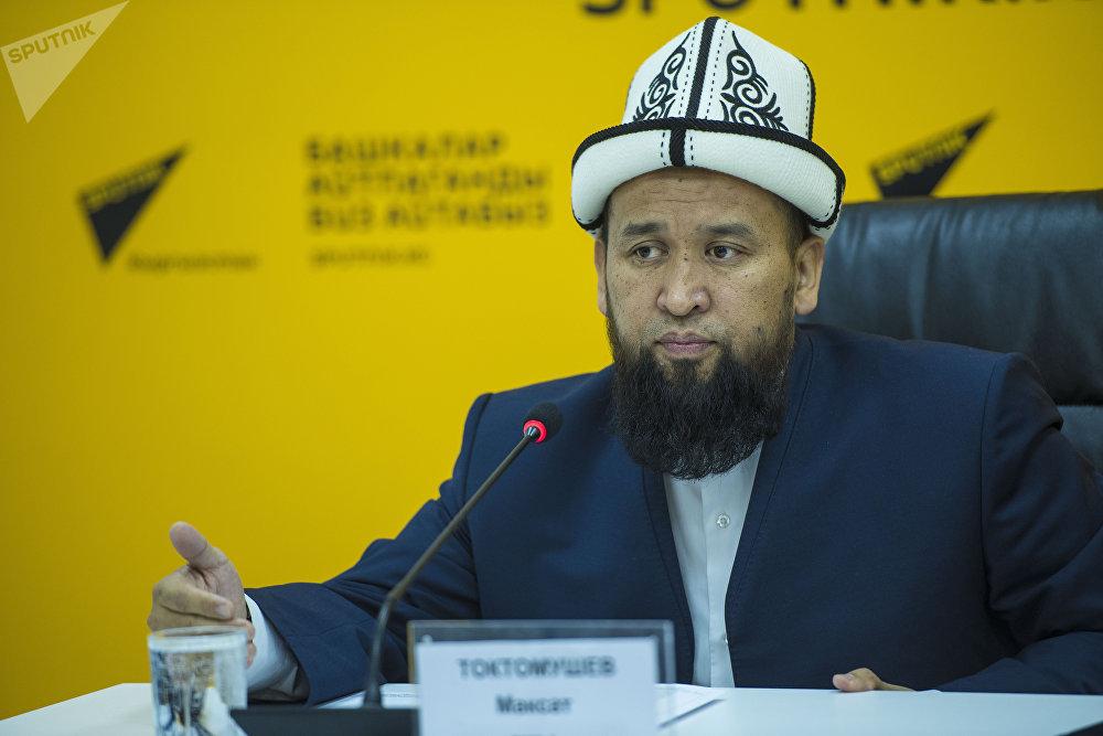 Муфтий во время выступления
