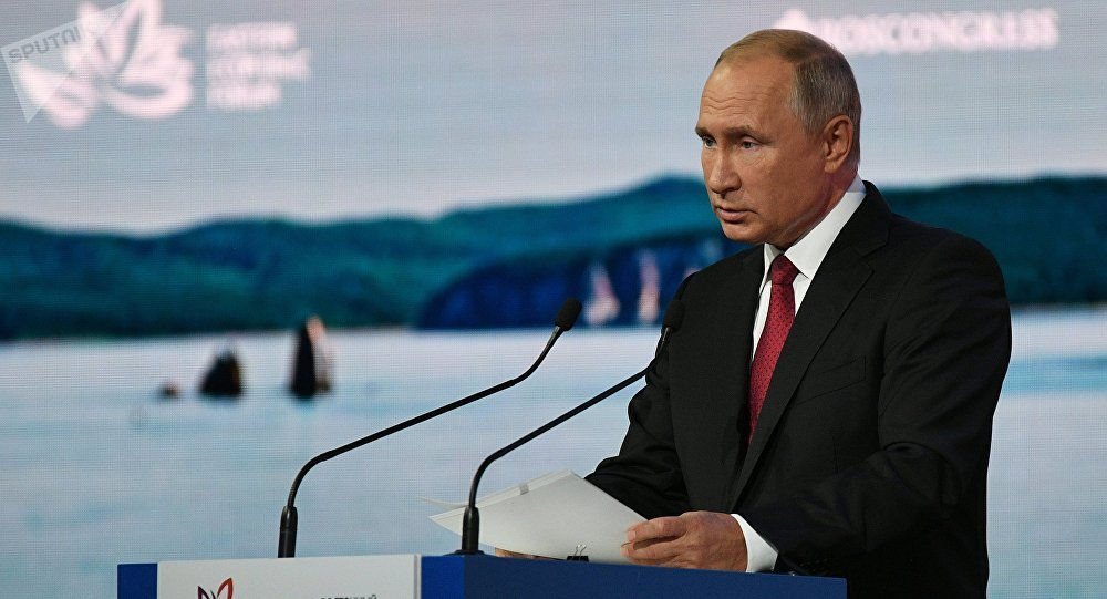 Россиянын президенти Владимир Путин. Архивное фото