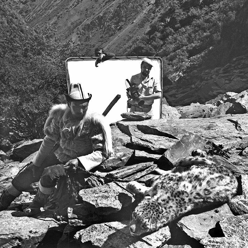 Снимок из фильма Потомок белого барса — советского двухсерийного художественного фильм-притча