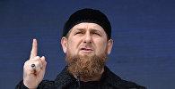 Чеченстандын башчысы Рамзан Кадыровтун архивдик сүрөт