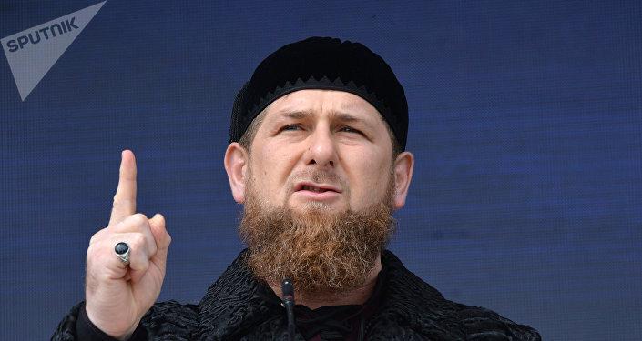 Празднование Дня конституции Чеченской Республики в Грозном
