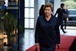 Архивное фото вдовы первого президента РФ Б. Ельцина Наина Ельцина