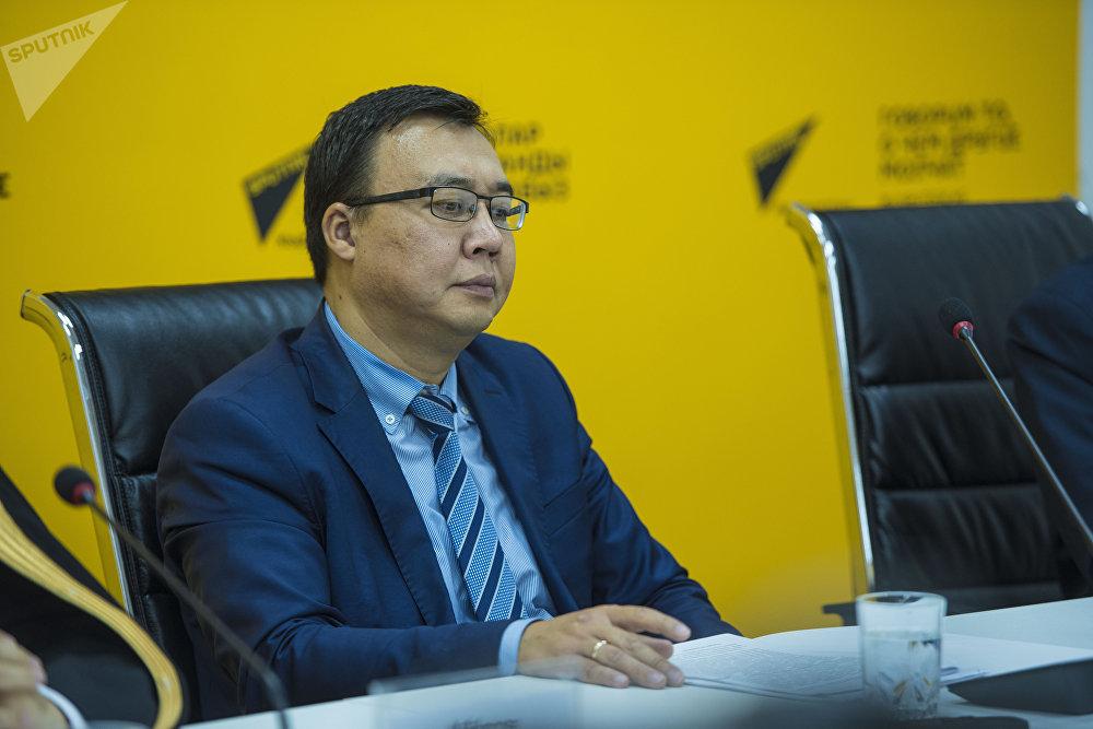 Заместитель директора Госкомиссии по делам религий Закир Чотаев