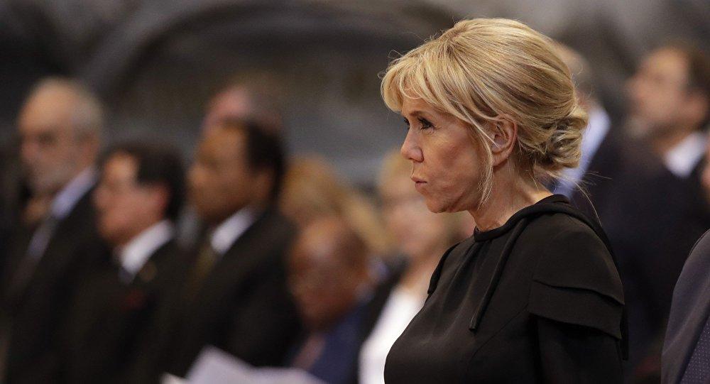 Франция президенти Эммануэль Макрондун жубайы Брижит. Архив