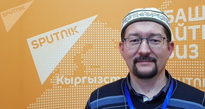 Муфтий мусульман Литвы Ромас Якубаускас