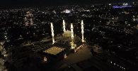 Новая главная мечеть Бишкека ночью — невероятное видео с дрона
