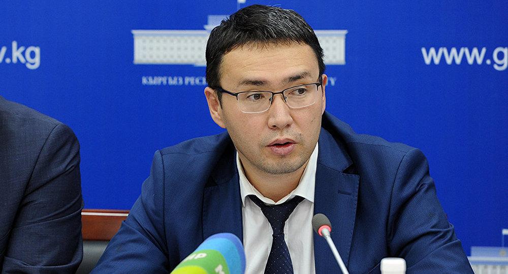 Экономика министринин орун басары Элдар Абакиров