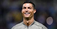 Португальский футболист, нападающий итальянского клуба Ювентус Криштиану Роналду. Архивное фото