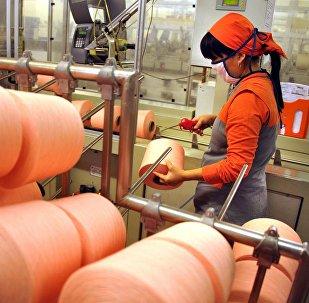 Текстиль фабрикасы. Архивдик сүрөт