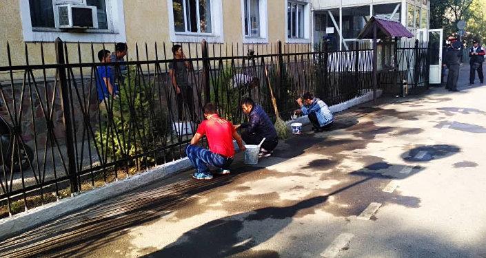 Бишкек шаарындагы Ички иштер башкармалыгы менен борбор калаанын райондук милиция бөлүмдөрү бүгүн, 15-сентябрда, ишембиликке чыкты
