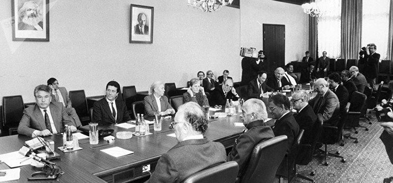 Иссык-Кульский форум. 1986 год