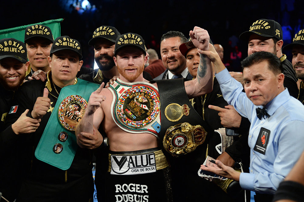 Сегизинчи орунду мексикалык атактуу боксчу, 28 жаштагы Сауль Альварес 44,5 миллион доллары камсыздады
