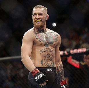 Архивное фото ирландского бойца MMA Конора Макгрегора