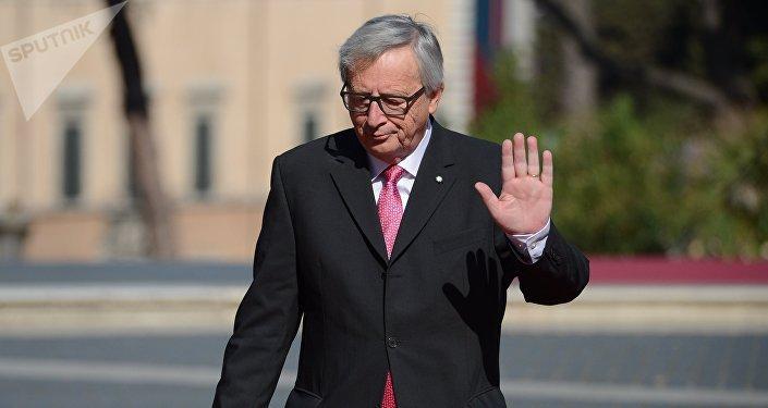 Архивное фото председателя Европейской комиссии Жан-Клода Юнкера