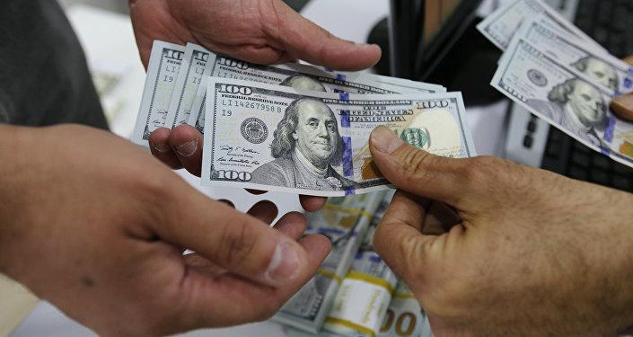 Курс доллара. Архивное фото
