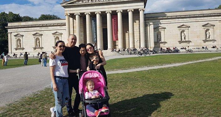 Кыргызстанка Айдай Сагындыкова, живущая в Австрии