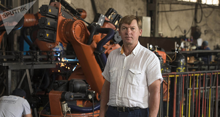 Учредитель завода по производству легких металлических конструкций Александр Степанюк. Архивное фото