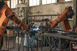 Завод по производству легких металлических конструкций в Бишкеке. Архивное фото
