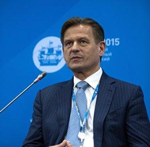 Директор Национальной системы платежных карт России Владимир Комлев. Архивное фото
