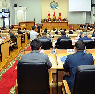 Заседание правительства КР. Архивное фото