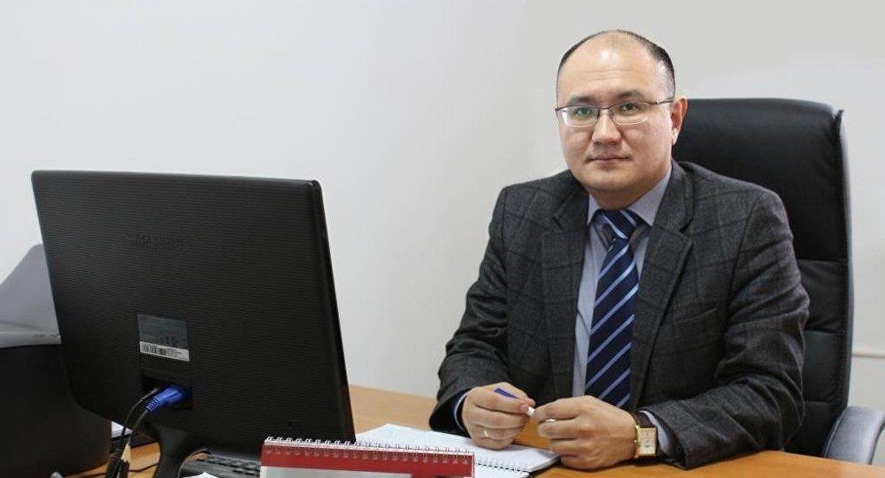 Руководитель аппарата конституционной палаты верховного суда Марат Джаманкулов. Архивное фото