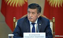 Президент Кыргызской Республики Сооронбай Жээнбеков. Архивное фото