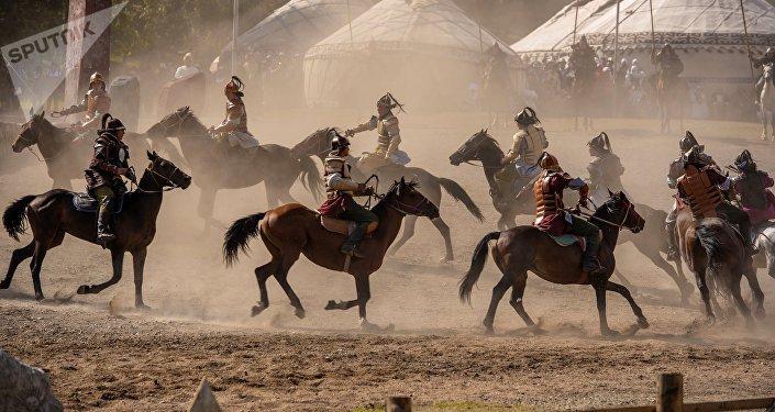 III Международные игры кочевников. Архивное фото