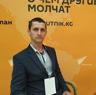 Заведующий лабораторией селекции кукурузы Национального центра зерна имени П. Лукьяненко Роман Ласкин