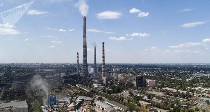 Бишкектин ТЭЦи. Архивдик сүрөт