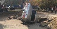 Житель Актобе провалился под землю в своем автомобиле Волга