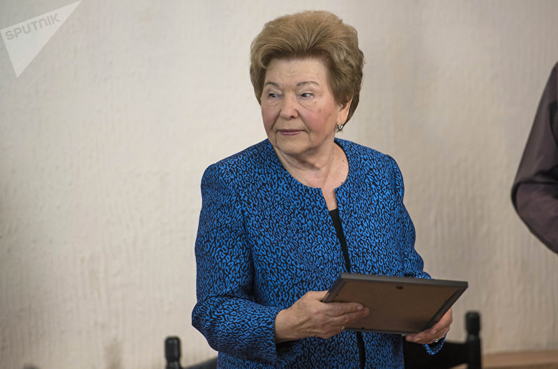Стипендию из рук вдовы первого президента РФ Наины Ельциной получили 50 лучших студентов КРСУ