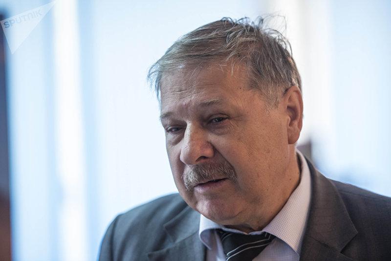 Директор Центра мониторинга высотных плотин при КРСУ Довгань Владимир