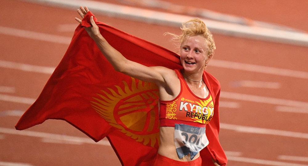 Жеңил атлет Дарья Маслова. Архивдик сүрөт