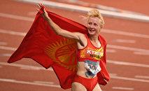 Кыргызстандык спортчу Дарья Маслова. Архив