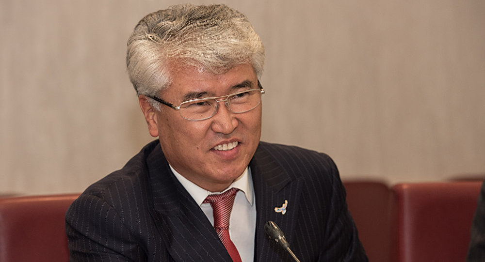Министр культуры и спорта РК Арыстанбек Мухамедиулы. Архивное фото