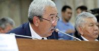 Депутат Исхак Масалиев. Архивдик сүрөт