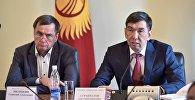 Борбор калаада жүргүнчү ташыган фирмалардын жетекчилери мэр Азиз Суракматов менен жолукту