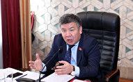 Депутат Жогорку Кенеша 6 созыва Алмамбет Шыкмаматов. Архивное фото