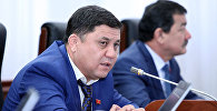 Депутат Максатбек Эгембердиевтин архивдик сүрөтү