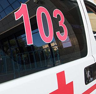 Автомобиль скорой помощи в Алматы. Архивное фото