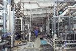 Бишкек жылуулук электр борборунун жаңы химиялык суу тазалоо цехинин курулушунун жүрүшү