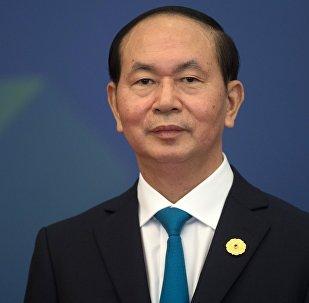 Архивное фото президента Вьетнама Чана Дай Куанга