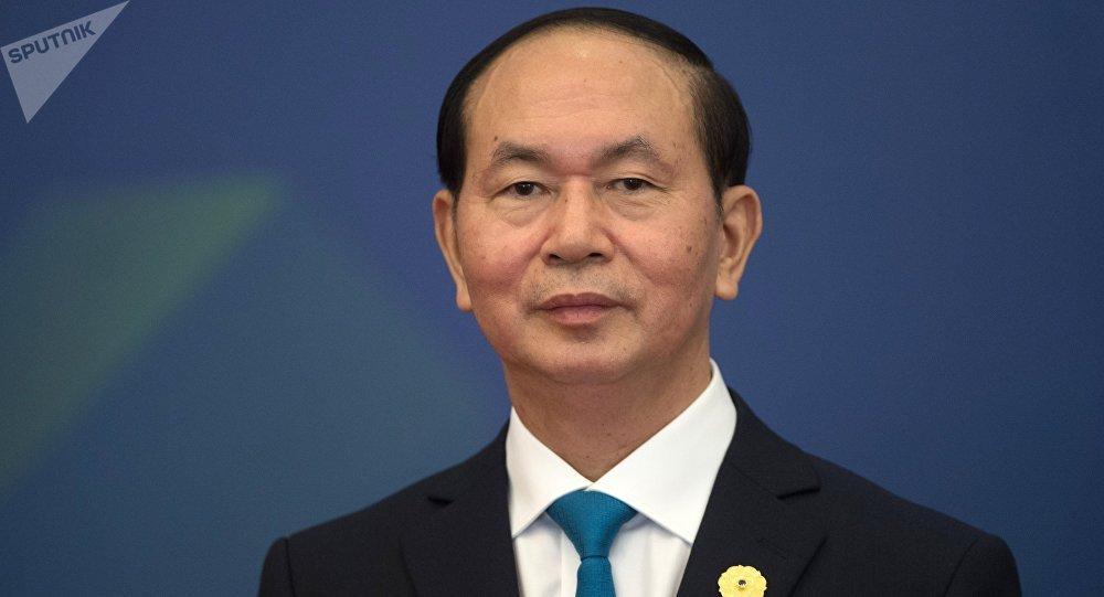 Вьетнамдын президенти Чан Дай Куангтын. Архивдик сүрөтү