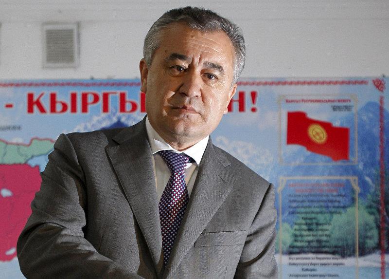 Лидер политической партии Ата-Мекен Омурбек Текебаев