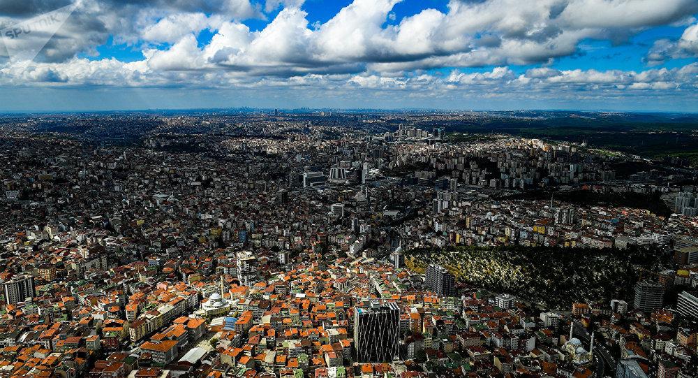 Вид на город Стамбул. Архивное фото