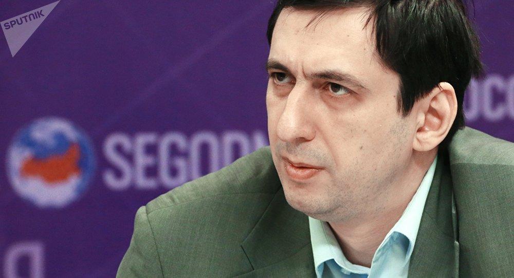 Архивное фото эксперта Института востоковедения РАН Андрея Арешева