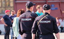 Россиянын полиция кызматкерлери. Архив