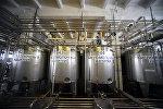 Цех приемки на молочном заводе. Архивное фото
